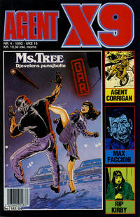 Cover Thumbnail for Agent X9 (Semic, 1976 series) #4/1992