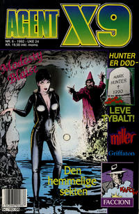 Cover Thumbnail for Agent X9 (Semic, 1976 series) #6/1992