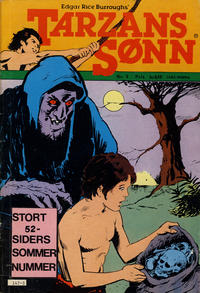 Cover Thumbnail for Tarzans Sønn (Atlantic Forlag, 1979 series) #3/1982
