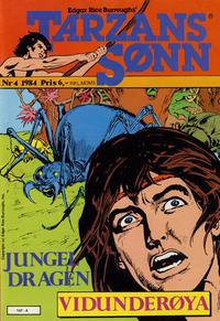 Cover Thumbnail for Tarzans Sønn (Atlantic Forlag, 1979 series) #4/1984