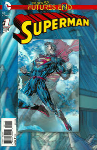 Cover Thumbnail for Superman: Futures End (DC, 2014 series) #1 [3-D Motion Cover]