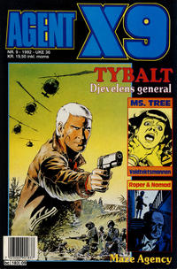 Cover Thumbnail for Agent X9 (Semic, 1976 series) #9/1992