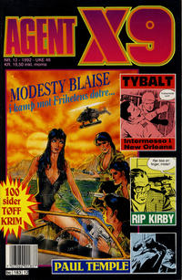 Cover Thumbnail for Agent X9 (Semic, 1976 series) #12/1992