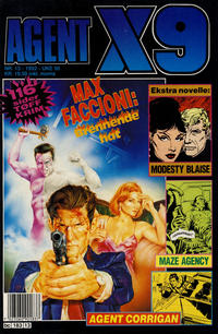 Cover Thumbnail for Agent X9 (Semic, 1976 series) #13/1992