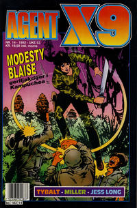 Cover Thumbnail for Agent X9 (Semic, 1976 series) #14/1992