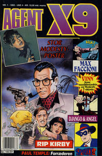 Cover Thumbnail for Agent X9 (Semic, 1976 series) #1/1993