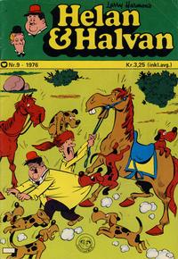 Cover Thumbnail for Helan og Halvan (Illustrerte Klassikere / Williams Forlag, 1963 series) #9/1976