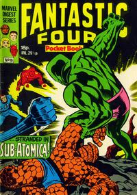 Cover Thumbnail for Fantastic Four Pocket Book (Marvel UK, 1980 series) #16