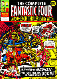 Cover Thumbnail for The Complete Fantastic Four (Marvel UK, 1977 series) #20