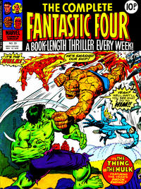 Cover Thumbnail for The Complete Fantastic Four (Marvel UK, 1977 series) #33
