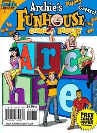 Cover Thumbnail for Archie's Funhouse Double Digest (Archie, 2014 series) #8
