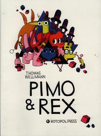Cover Thumbnail for Pimo & Rex (rotopolpress, 2013 series)