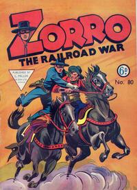 Cover Thumbnail for Zorro (L. Miller & Son, 1952 series) #80