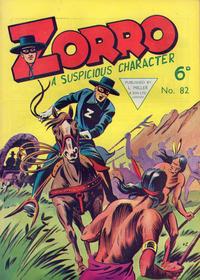 Cover Thumbnail for Zorro (L. Miller & Son, 1952 series) #82