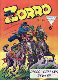 Cover Thumbnail for Zorro (L. Miller & Son, 1952 series) #83