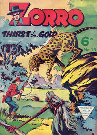 Cover Thumbnail for Zorro (L. Miller & Son, 1952 series) #79
