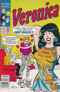 Cover Thumbnail for Veronica (Archie, 1989 series) #27 [Newsstand]