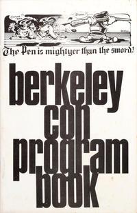 Cover Thumbnail for Berkeley Con Program Book (Rip Off Press, 1973 series)