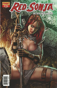 Cover Thumbnail for Red Sonja (Dynamite Entertainment, 2005 series) #61 [Cover B]