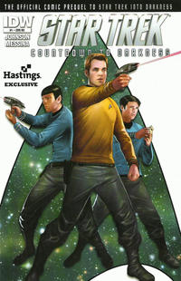 Cover Thumbnail for Star Trek Countdown to Darkness (IDW, 2013 series) #1 [Cover RE - Hastings Exclusive by Erfan Fajar]