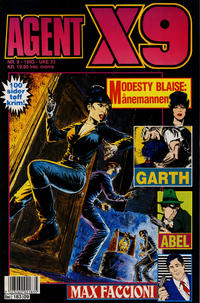 Cover Thumbnail for Agent X9 (Semic, 1976 series) #9/1993