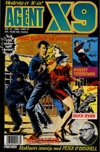 Cover Thumbnail for Agent X9 (Semic, 1976 series) #10/1993