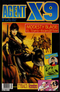 Cover Thumbnail for Agent X9 (Semic, 1976 series) #11/1993