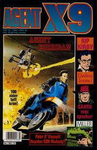 Cover Thumbnail for Agent X9 (Semic, 1976 series) #12/1993