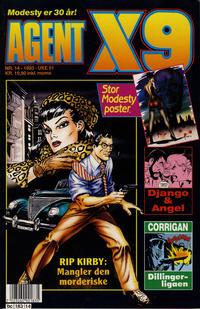 Cover Thumbnail for Agent X9 (Semic, 1976 series) #14/1993