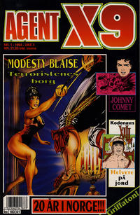 Cover Thumbnail for Agent X9 (Semic, 1976 series) #1/1994