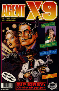 Cover Thumbnail for Agent X9 (Semic, 1976 series) #4/1994