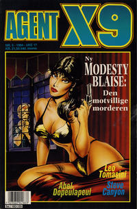 Cover Thumbnail for Agent X9 (Semic, 1976 series) #5/1994