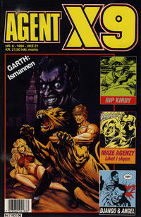 Cover Thumbnail for Agent X9 (Semic, 1976 series) #6/1994