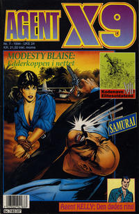 Cover Thumbnail for Agent X9 (Semic, 1976 series) #7/1994
