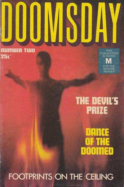 Cover for Doomsday (K. G. Murray, 1972 series) #2