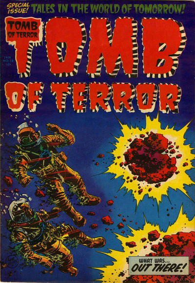 Cover for Tomb of Terror (Harvey, 1952 series) #13