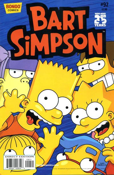 Cover for Simpsons Comics Presents Bart Simpson (Bongo, 2000 series) #92