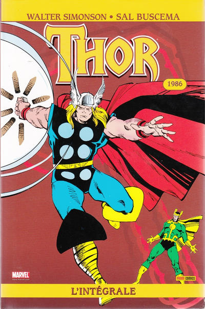 Cover for Thor : l'intégrale (Panini France, 2007 series) #3
