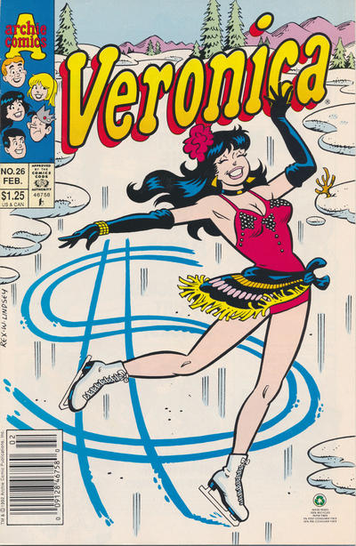Cover for Veronica (Archie, 1989 series) #26 [Direct Edition]