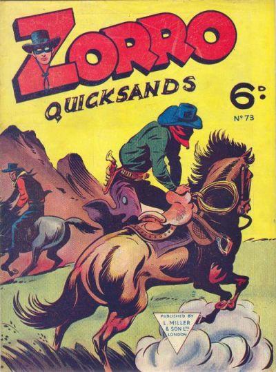 Cover for Zorro (L. Miller & Son, 1952 series) #73