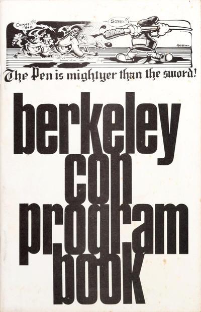 Cover for Berkeley Con Program Book (Rip Off Press, 1973 series) #[nn]