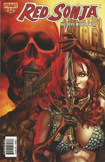 Cover for Red Sonja (Dynamite Entertainment, 2005 series) #62 [Cover A]