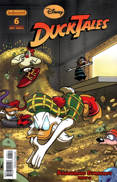 Cover for DuckTales (Boom! Studios, 2011 series) #6 [Cover B]