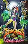 Cover Thumbnail for Zombies vs Cheerleaders: Halloween Special (2014 series) #[1] [Cover A Pasquale Qualano]