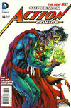 Cover Thumbnail for Action Comics (2011 series) #35 [Monsters of the Month Cover]