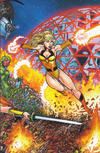 Cover Thumbnail for George Pérez's Sirens (2014 series) #1 [Cover C - Wraparound Inter-Connecting Cover by George Perez]
