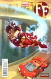 Cover for FF (Marvel, 2013 series) #6 [Many Armors of Iron Man Variant]
