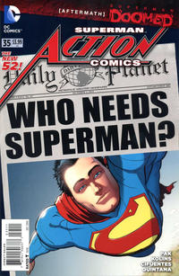 Cover Thumbnail for Action Comics (DC, 2011 series) #35 [Direct Sales]