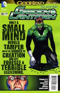 Cover Thumbnail for Green Lantern (DC, 2011 series) #35