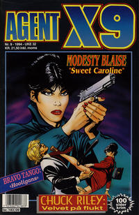 Cover Thumbnail for Agent X9 (Semic, 1976 series) #9/1994